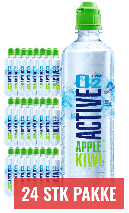 Active O2 - Apple/Kiwi 24stk