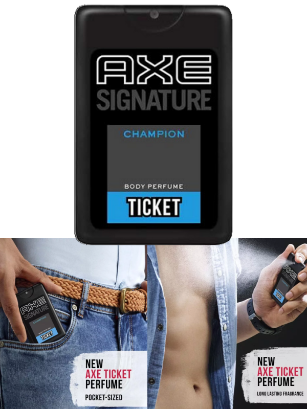 AXE Signature Body Perfume Champion Men