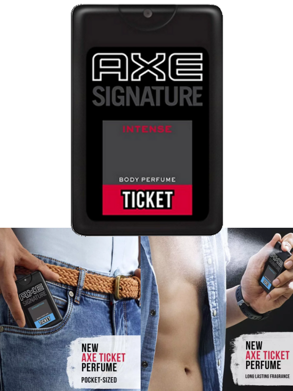 AXE Signature Body Perfume Intense Men