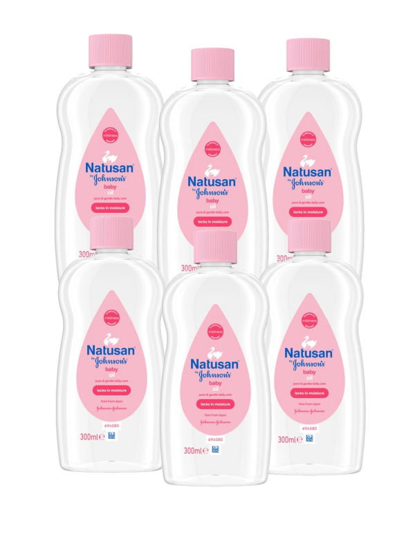 Baby Olie Natusan Baby Oil 6-pack
