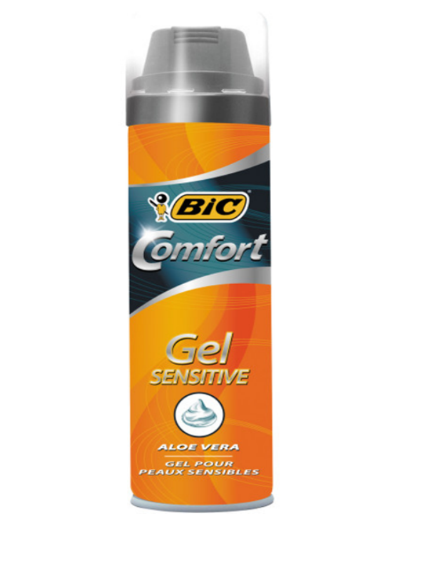 BIC Comfort Gel Sensitive 200 ml