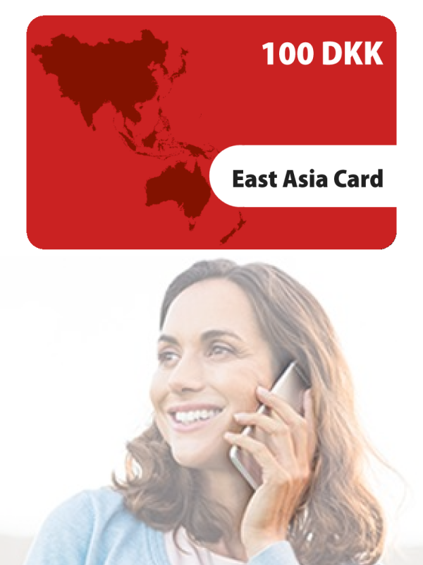 East Asia Card 100KR