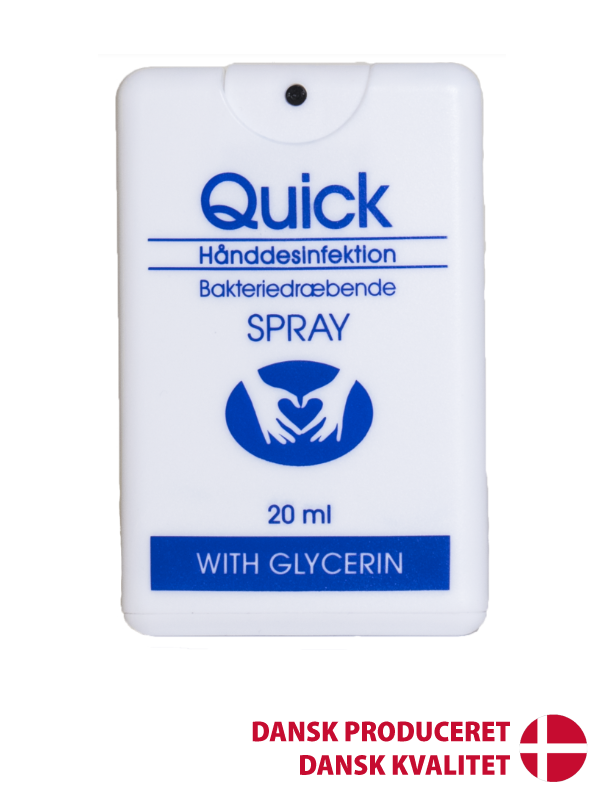 Håndsprit Quick 70% 20ml m/Glycerin