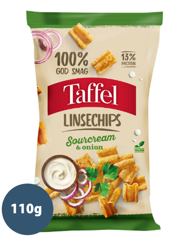 LINSECHIPS SOURCREAM & ONION 110g