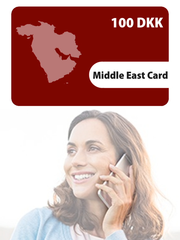 Middle East Card 100KR