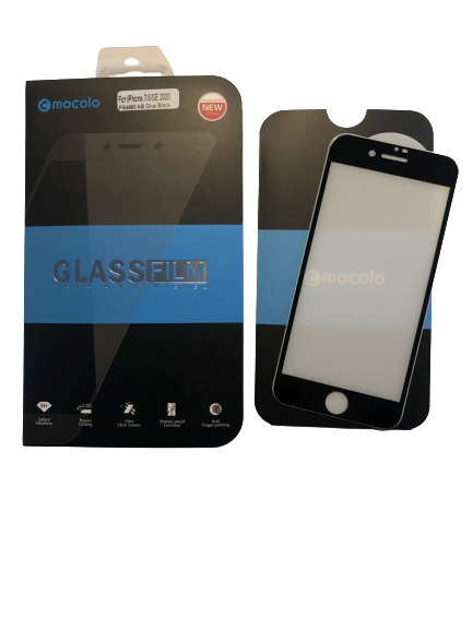 Mocolo Premium Tempered Glass skærmbeskyttelse iPhone 7/8/SE sort