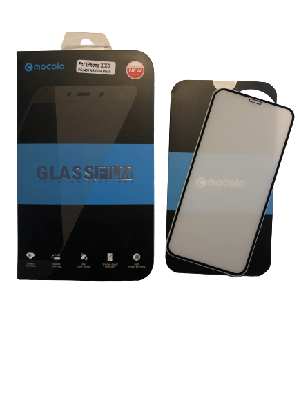 Mocolo Premium Tempered Glass skærmbeskyttelse iPhone X/XSE sort