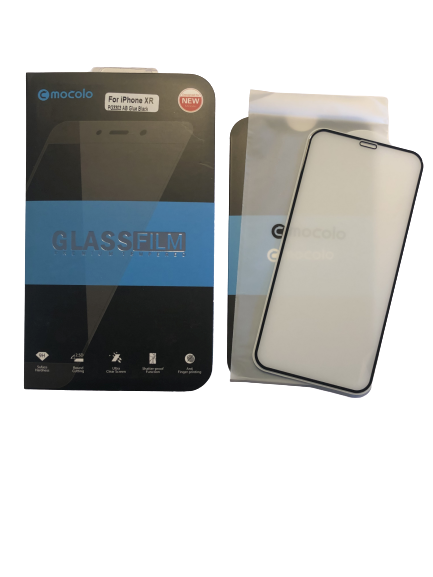 Mocolo Premium Tempered Glass skærmbeskyttelse iPhone XR/11 sort