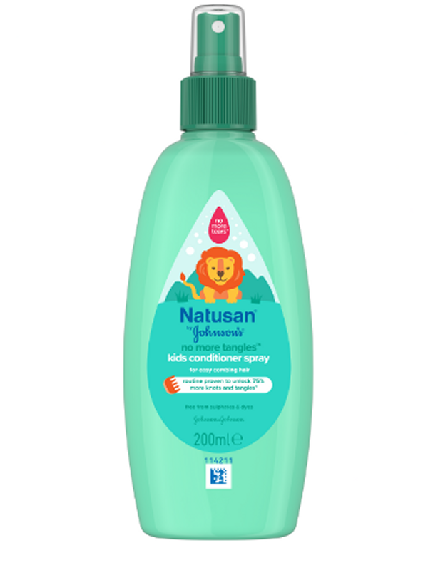 Børne Balsam Spray Natusan No More Tangles