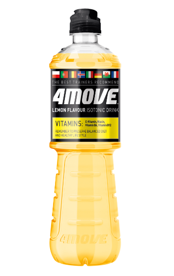 4Move Lemon Isotonisk vitamindrik