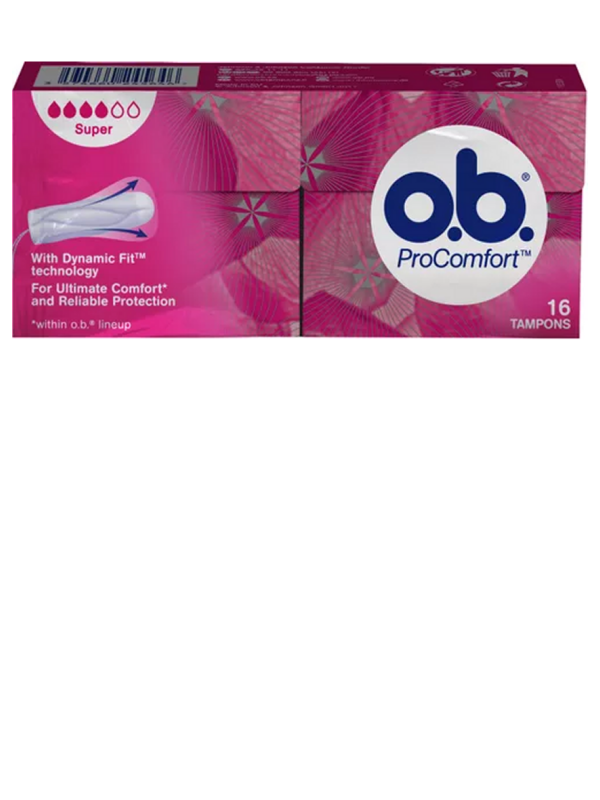 o.b. Super Pro Comfort Tampon SilkTouch