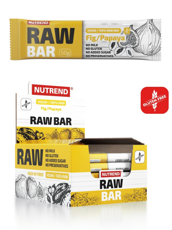 Raw Bar Figne/Papaya Vegansk Gluten fri 50g