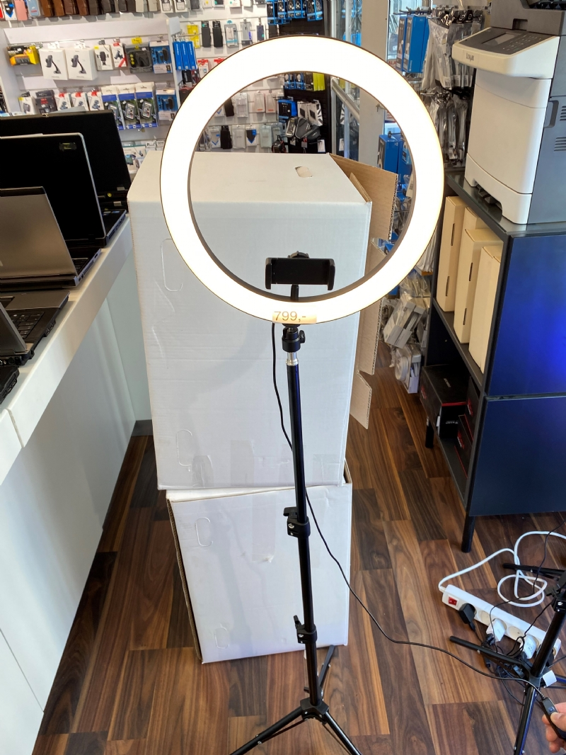 Ring Light Large Justerbar TriPod/stativ