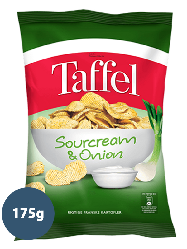 SOURCREAM & ONION 175g