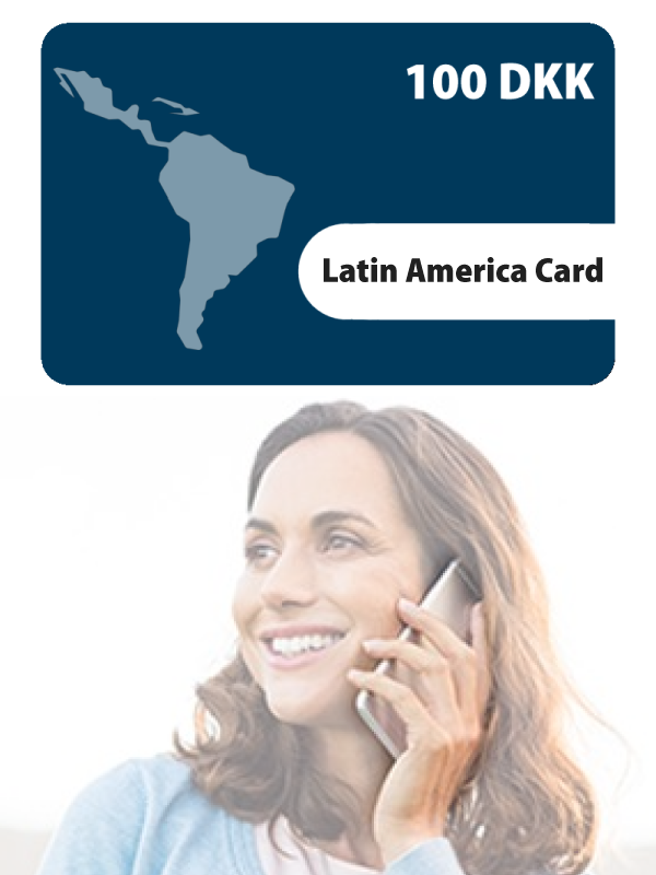 Latin America Card 100KR