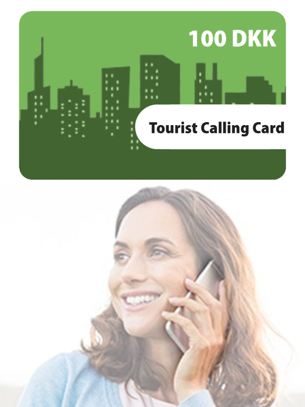 Tourist Calling Card 100KR